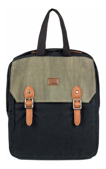 Roxy Mochila Lifestyle Iconic Stop Colorblock Mujer Ng. Fkr