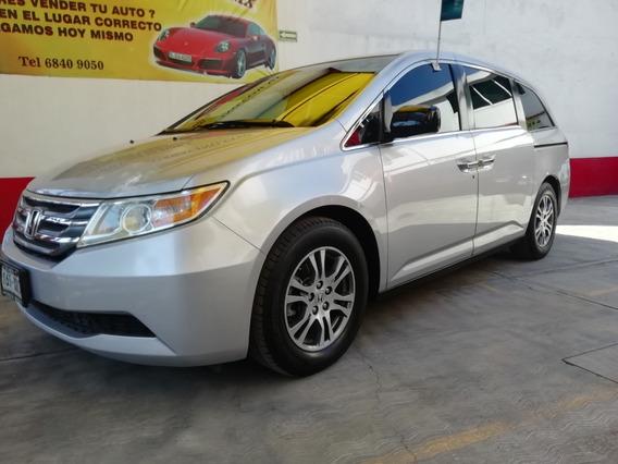 Honda Odyssey 2011 Exl Factura De Agencia Piel Dvd