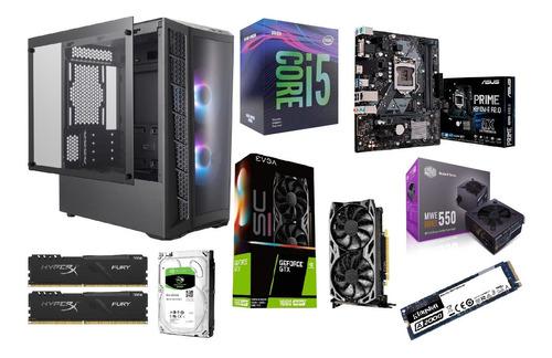 Pc Gamer I5 - 16gb - 480gb + 1tb - Gtx1660 - 550w 80+ Bronze