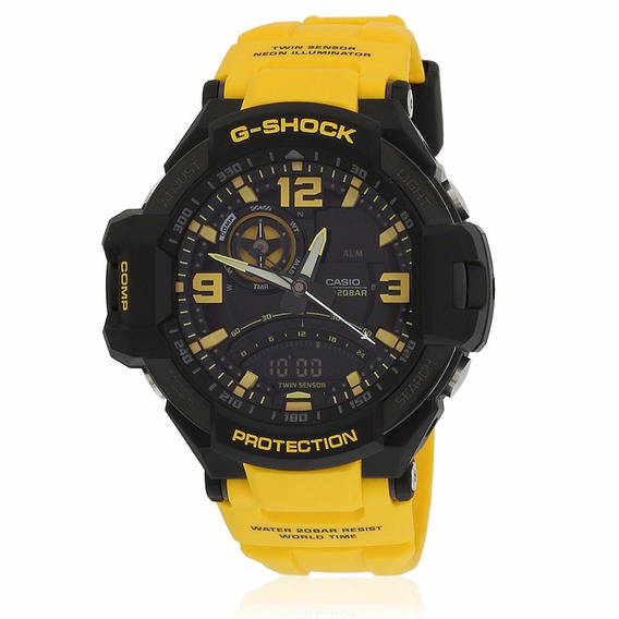 Relógio Casio G-shock Ga-1000-9bdr Gravitymaster Original