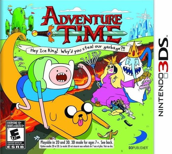 Adventure Time: Hey Ice King! Why