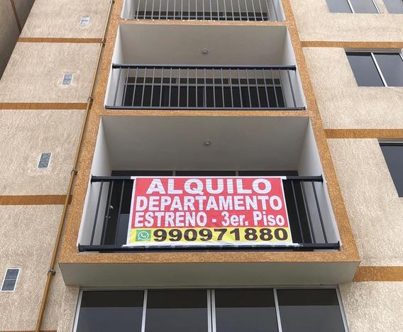Departamento De Estreno, Con 3 Dormitorios Y 2 Baños