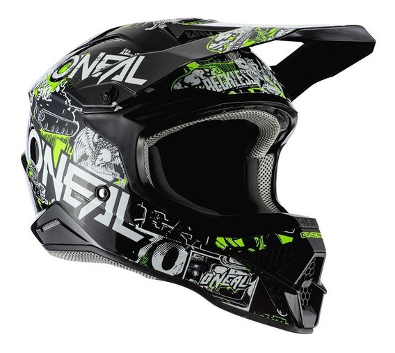 Capacete Motocross Oneal 3series Attack 2.0