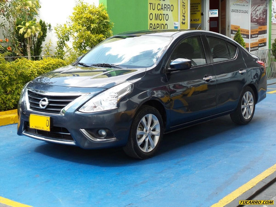 Nissan Versa Advance 1.6cc