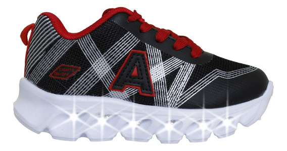 Zapatillas Addnice Moda Cross Cordon Niño Ng/ng