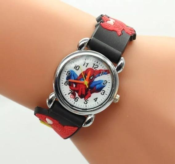Relógio De Pulso Infantil Super Herói Homem Aranha
