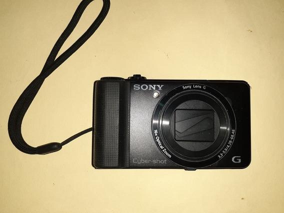Cámara Fotográfica Sony Cubre Shot 16.2 Megapixel
