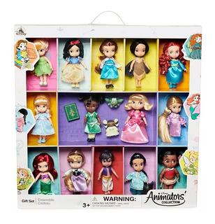 Set De Figuras De Disney Pricesas De Animators Es Nuevo !!