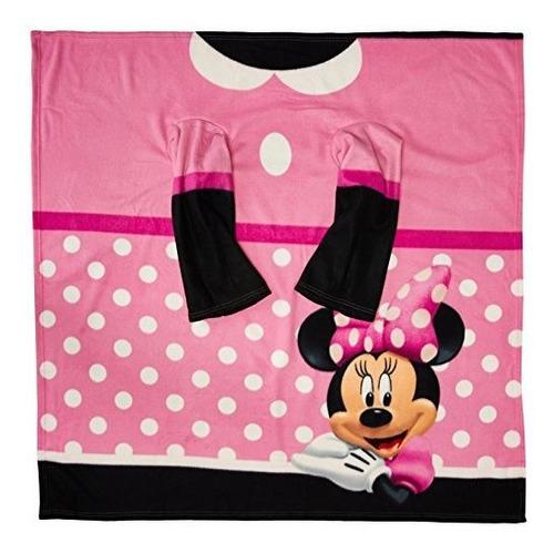 Minnie Mouse De Disney, Manta Comoda Y Juvenil  Dot  Con Man