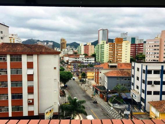 Apartamento 2 Dormitórios À Venda, 140 M² Por R$ 480.000 - Encruzilhada - Santos - Sp - Ap0262