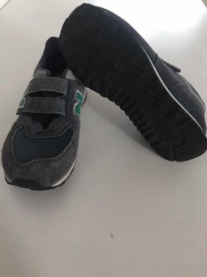 Zapatos Deportivos New Balance Original De Niño Talla 34.5