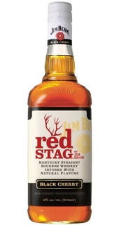 Whisky Jim Beam Red Stag 1000 Ml 100% Original