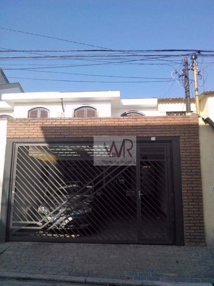 Casa Residencial À Venda, Vila Formosa, São Paulo. - Ca0025