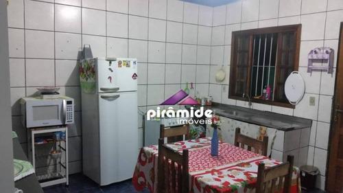 Casa Com 2 Dormitórios À Venda, 90 M² Por R$ 195.000,00 - Perequê Mirim - Caraguatatuba/sp - Ca6056