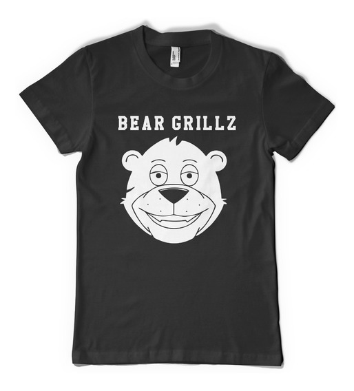 Bear Grillz Remera Dj Color Animal
