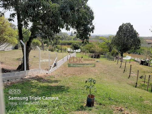 Imagem 1 de 9 de Chácara Com 3 Dormitórios À Venda, 200 M² Por R$ 318.000,00 - Rural - Caçapava/sp - Ch0383