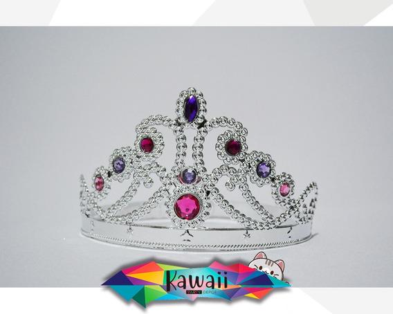 Set De 12 Coronas De Princesa - Corona Para Niña