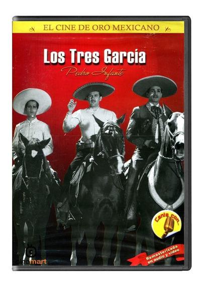 Los Tres Garcia Pedro Infante Película Dvd