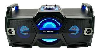 Multireproductor De Audio Bluetooth Stromberg Dj300 Fm Usb