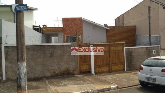 Casa Com 3 Dormitórios À Venda, 124 M² Por R$ 400.000,00 - Jardim Primavera - Paulínia/sp - Ca1428