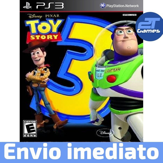Toy Story 3 The Video Game Ps3 Psn Jogo Pronta Entregaplay 3