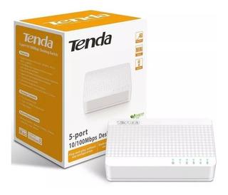 Switch Tenda 5 Puertos 10/100 S105 Mini