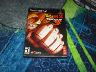 Dragon Ball Z Budokai 3 Ps2 No Tenkaichi