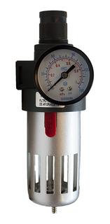 Filtro Regulador De Ar Grande 1/2 Profissional - Fr-01