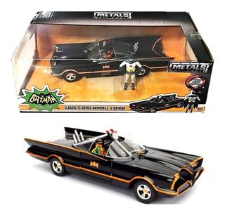 Batimovil Vehiculo Clasico 1966 Con Batman Y Robbin - Wabro