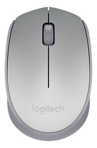 Imagen 1 de 4 de Mouse Inalámbrico Logitech  M170 Plateado
