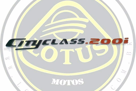 Emblema Lateral Dafra Cityclass 200 Modelo Original 022028