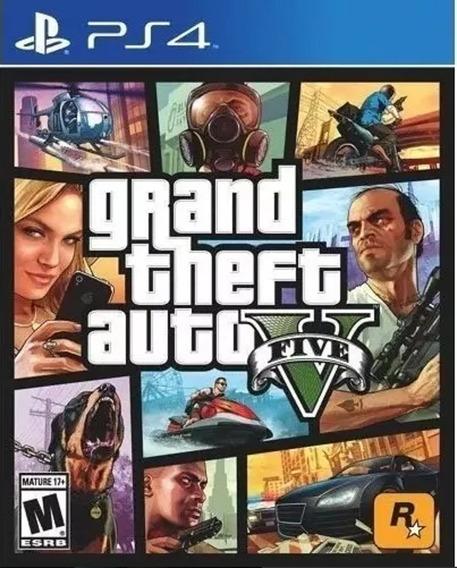 Grand Theft Auto Gta 5 V Ps4 Psn- Leia Descrição Do Produto-