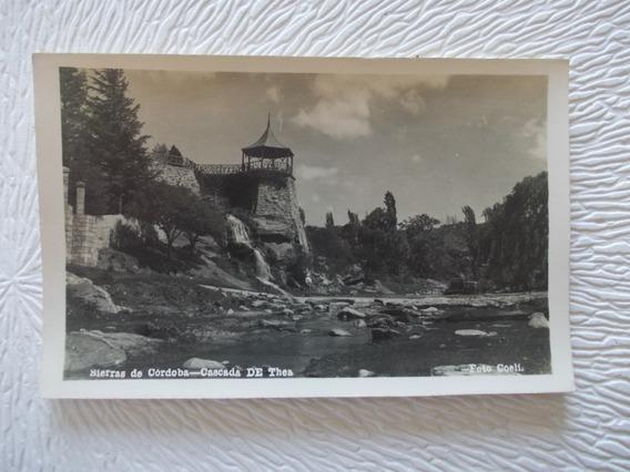 8668- Antigua Postal Cordoba,cascada De Thea Coeli