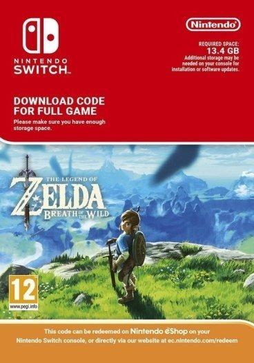 Zelda Breath Of The Wild - Digital Nintendo Switch - Codigo