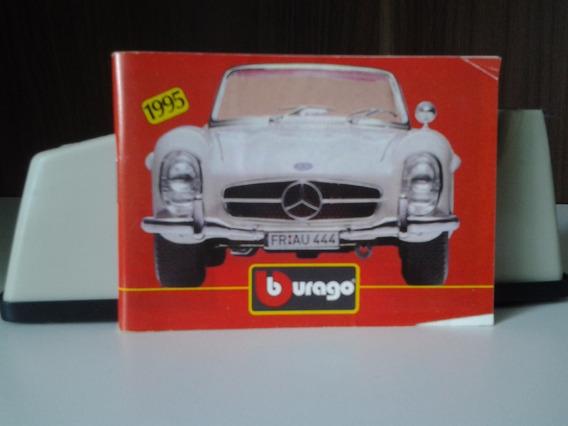 Miniatura De Automóveis Burago - Catálogo 1995