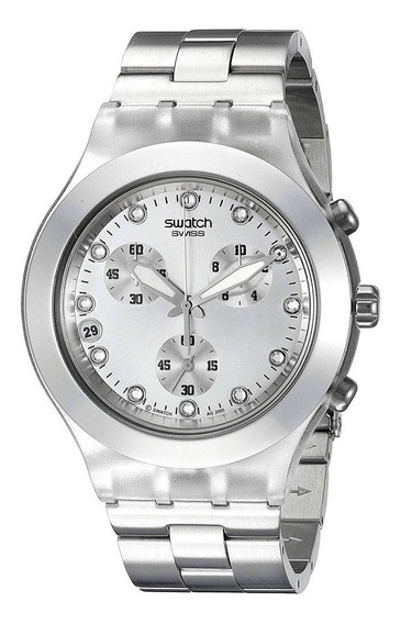 Relógio Swatch Unisex Full-blooded Silver Svck4038g
