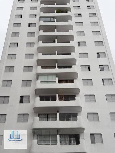 Apartamento Com 2 Dormitórios À Venda, 70 M² Por R$ 740.000,00 - Moema - São Paulo/sp - Ap3879