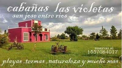 Cabañas Las Violetas San Jose Colon Entre Rios