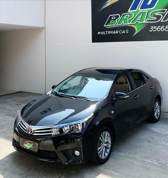 Toyota Corolla 2.0 16v Altis Flex Multi-drive S 4p
