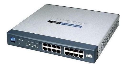 Linksys Cisco Sr2016 16-port 10-100-1000 Gigabit Switch