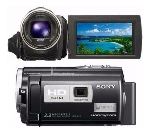 Filmadora Sony Hdr-pj10 Lcd 3 Projetor Integrado Full Hd
