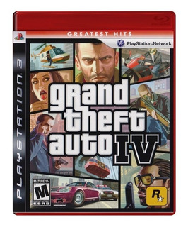 Grand Theft Auto 4 Cuatro Gta Ps3 Playstation 3 Juego Karzov