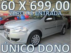 Fiat Siena Flex Completo Zero De Entrada + 60 X 699,00 Fixas