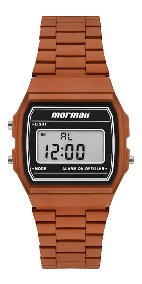 Relógio Mormaii Unissex Vintage Laranja Mojh02bl/4l