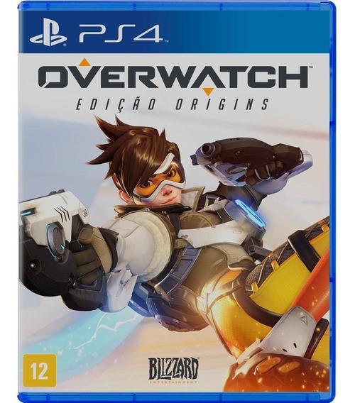 Overwatch Ps4 Novo Lacrado Ab Games