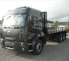 Ford Cargo 2428 Truck Carroceria 2012