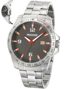 Relógio Masculino Magnum Sports Analógico Ma34325j Original