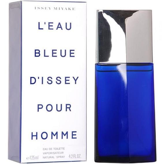 Perfume Issey Miyake Leau Bleue Masulino Edt 125ml Original.