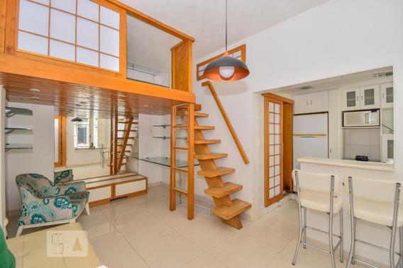 Apartamento Para Aluguel - Leblon, 1 Quarto, 40 - 893016114