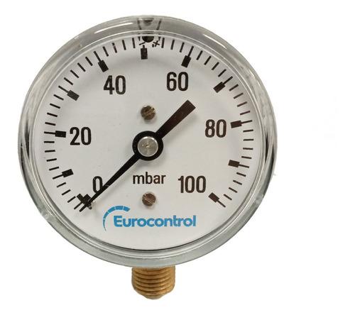 Manómetros Para Gas 0 A 100 Mbar Eurocontrol